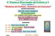 4° Torneo Madonna dei Calciatori 2018 - programma